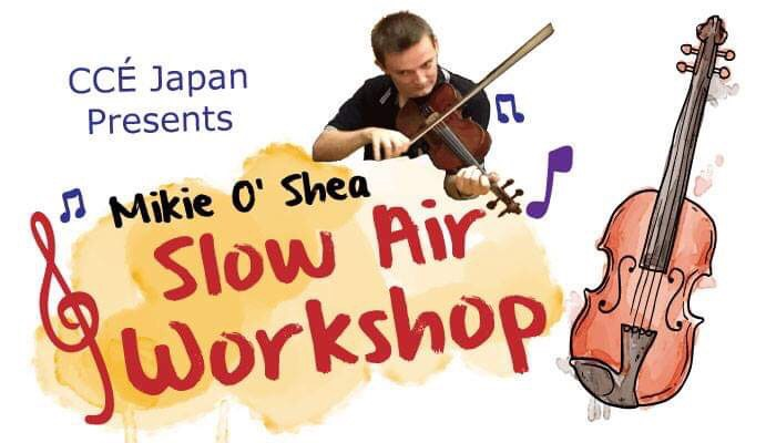 Slow Air Workshop by Mikie O'Shea
